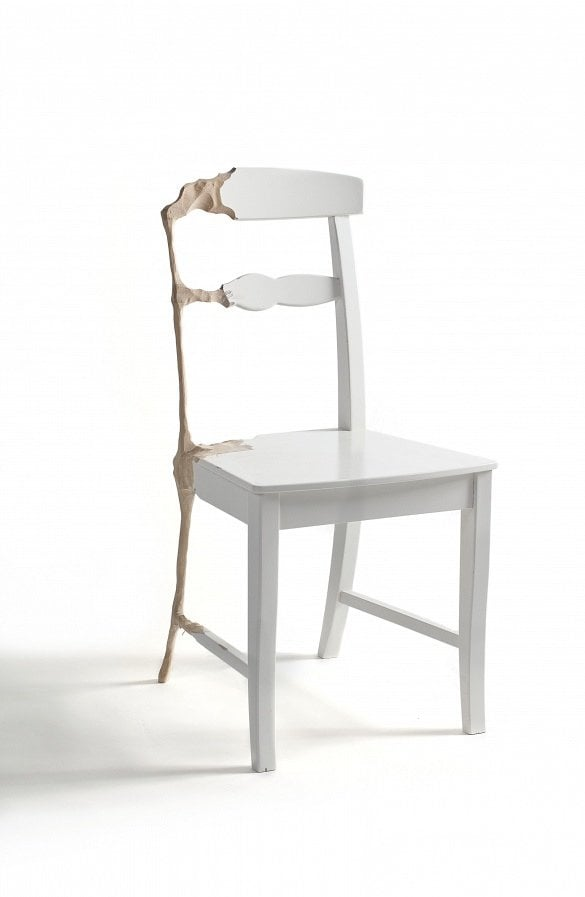 Wooden recession chair